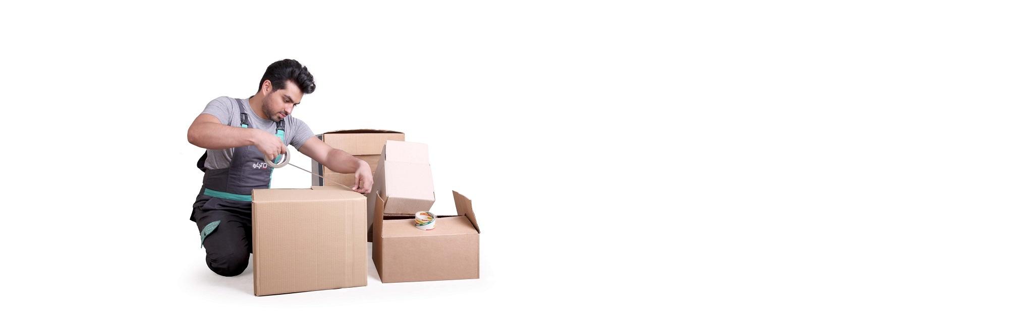 بسته بندی اثاثیه منزل با آچاره